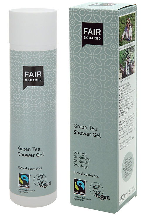Fair Squared Shower Gel - Green Tea