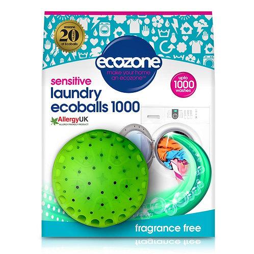 Ecozone Laundry Ecoballs 1000 - Fragrance Free