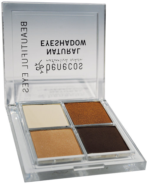 Benecos Quattro Eyeshadow Coffee & Cream