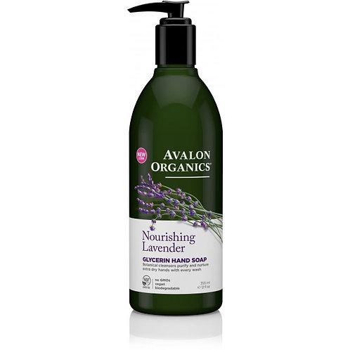 Avalon Organics Nourishing Lavender Glycerin Hand Soap - 355ml