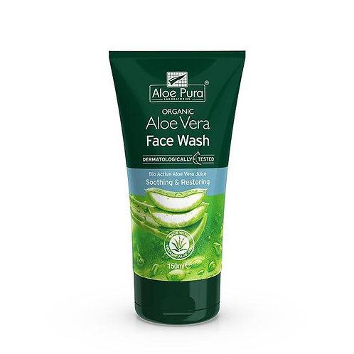 Aloe Pura Aloe Vera Face Wash - 150ml