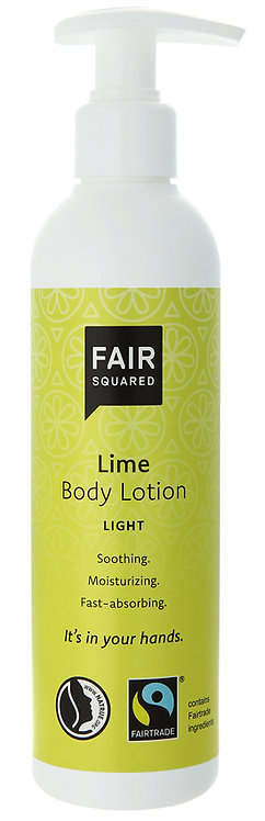 Fair Squared Body Lotion - Lime