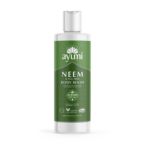 Ayumi Neem & Tea Tree Body Wash - 250ml