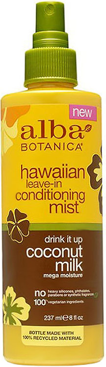 Alba Botanica Moisture Leave-In Conditioning Mist Coconut Milk