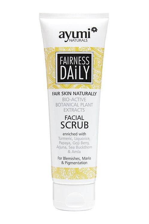 Ayumi Fairness Daily Face Scrub - 125ml