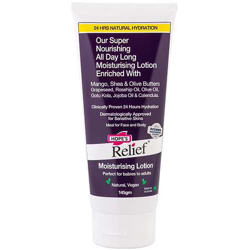 Hope's Relief Natural Moisturising Lotion - 145g