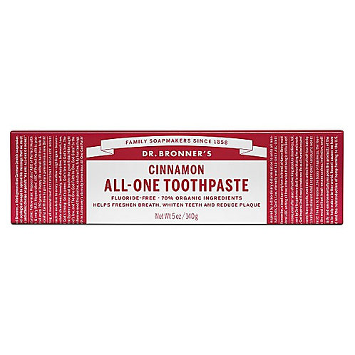 Dr Bronners All One Cinnamon Toothpaste