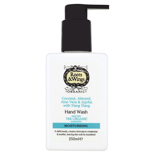 Roots and Wings Coconut, Almond, Aloe Vera Hand Wash