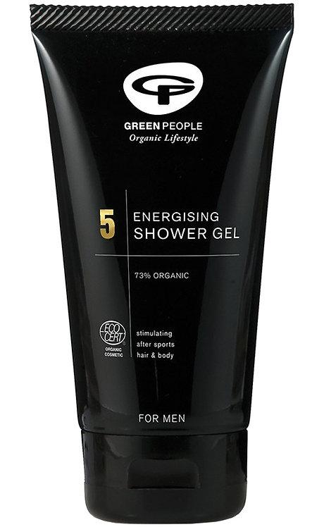 Green People for Men - No 5 Energising Shower Gel - 150ml