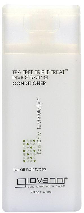 Giovanni Tea Tree Triple Treat Invigorating Conditioner - 60ml