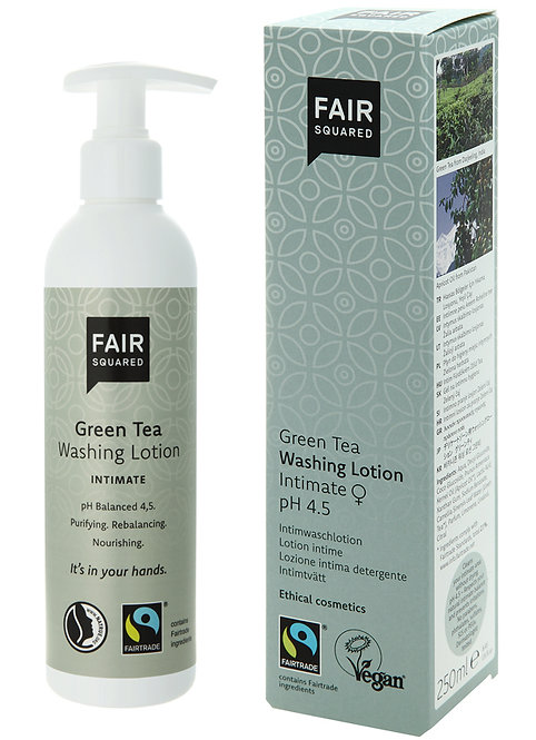 Fair Squared Green Tea Intimate Washing Lotion