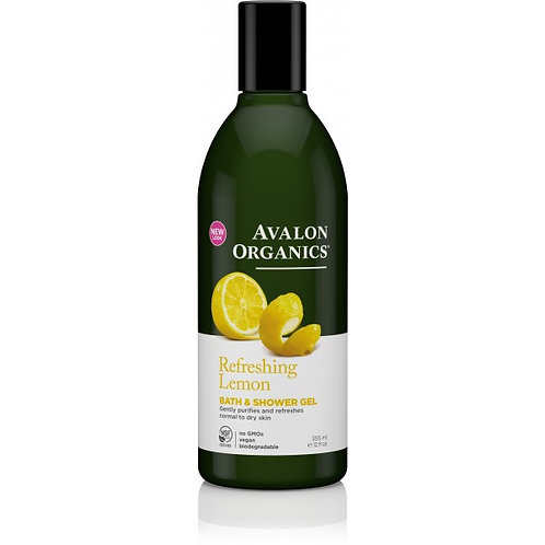 Avalon Organics Refreshing Lemon Bath & Shower Gel