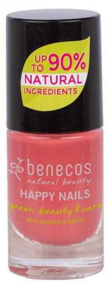 Benecos Natural Nail Polish - Flamingo