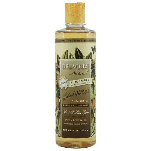 Dr Jacobs Naturals Castile Liquid Soap Shea Butter - 473ml
