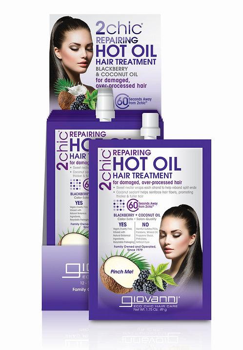 Giovanni 2chic Repairing Hot Oil Hair Treatment - Coconut Blackberry