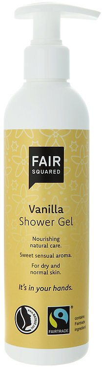 Fair Squared Shower Gel - Vanilla - 250ml