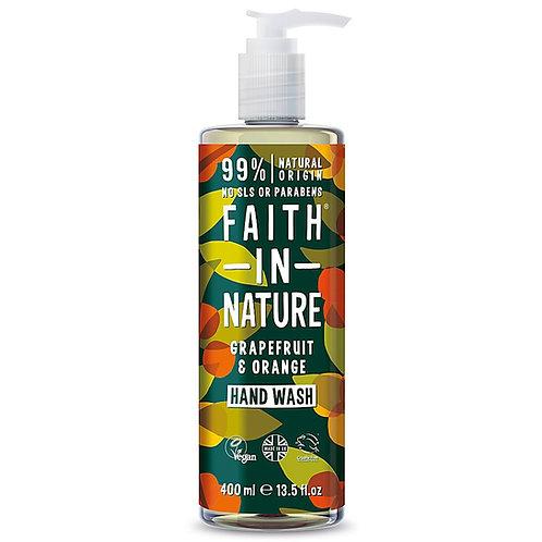 Faith in Nature Grapefruit & Orange Hand Wash - 400ml
