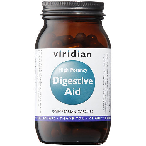 ViridianHigh Potency Digestive Aid 90 Veg Caps