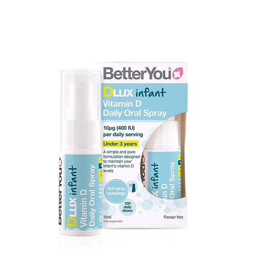 BetterYou DLux Infant Vitamin D Oral Spray - 15ml