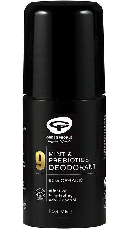 Green People for Men No 9 Mint & Prebiotics Deodorant