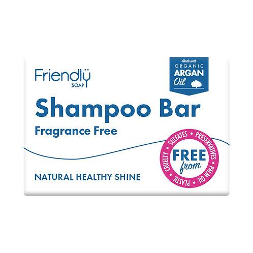Friendly Soap Shampoo Bar - Fragrance Free