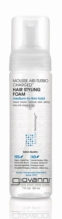 Giovanni Air-Turbo Charged Hair Styling Foam