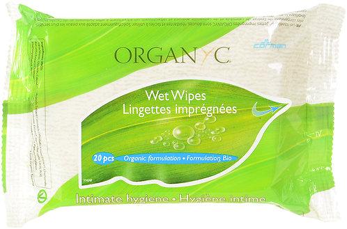 Organyc Intimate Wet Wipes