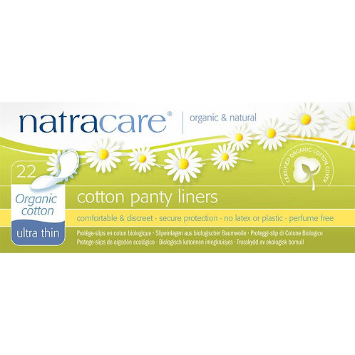Natracare Ultra Thin Panty Liners - 22