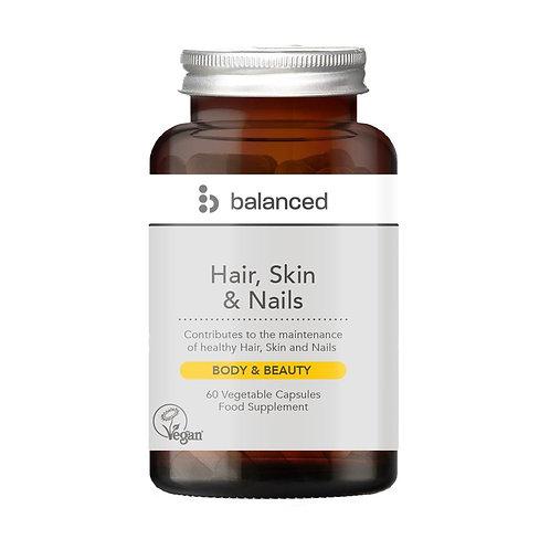 Balanced Hair, Skin & Nails - 60 Veg Caps