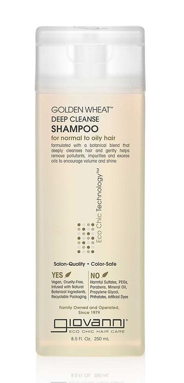 Giovanni Golden Wheat Deep Cleanse Shampoo - 250ml