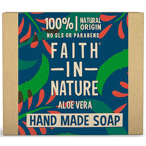 Faith in Nature Aloe Vera Soap Bar - 100g