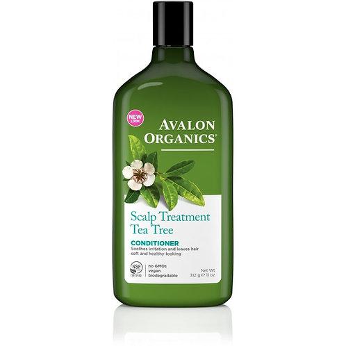 Avalon Organics Scalp Treatment Tea Tree Conditioner - 312g