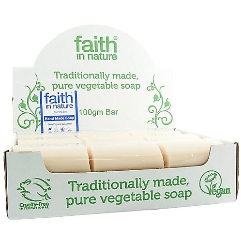 Faith in Nature Unwrapped Lavender Soap Bars - 18