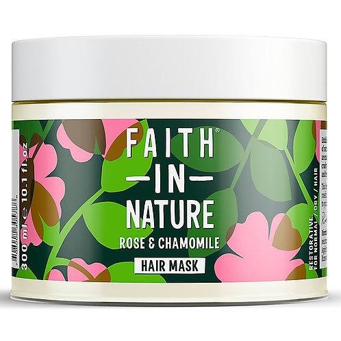 Faith in NatureWild Rose & Chamomile Restoring Hair Mask - 300ml