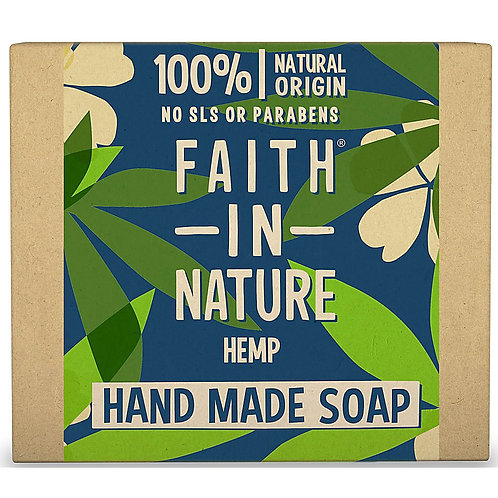 Faith in Nature Hemp Soap Bar - 100g