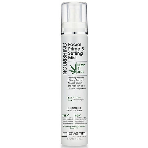 Giovanni Nourishing Facial Prime & Setting Mist
