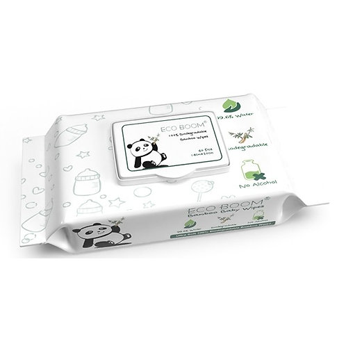 Eco Boom Bamboo Baby Cleaning Wipes