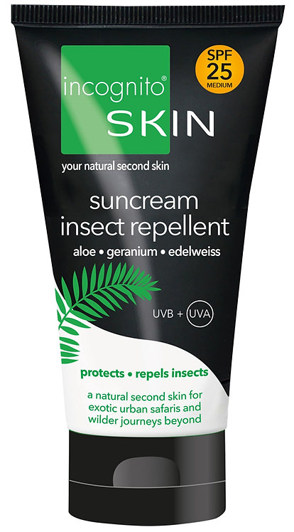 Incognito Suncream & Insect Repellent SPF25
