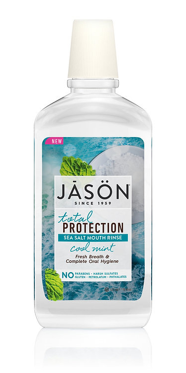 Jason Total Protection Sea Salt Mouth Rinse Cool Mint