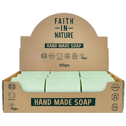 Faith in Nature Rosemary Unwrapped Soap Bars - 18 Bar Soaps
