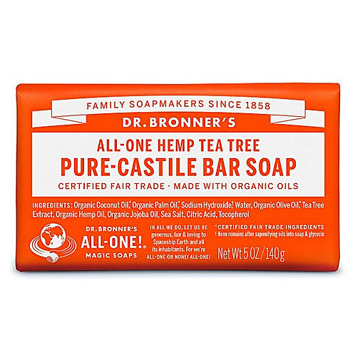 Dr Bronner's Pure Castile Tea Tree Soap Bar