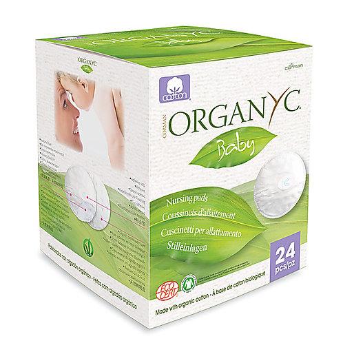 Organyc Organic Cotton Breast Pads - 24