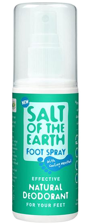 Salt of the Earth Natural Foot Deodorant Spray