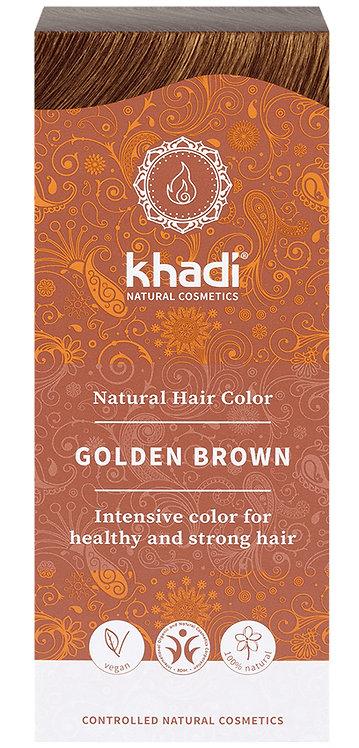Khadi Natural Hair Colour Golden Brown