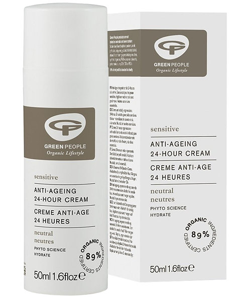 Green People Scent Free Anti Ageing 24 Hour Cream - 50ml