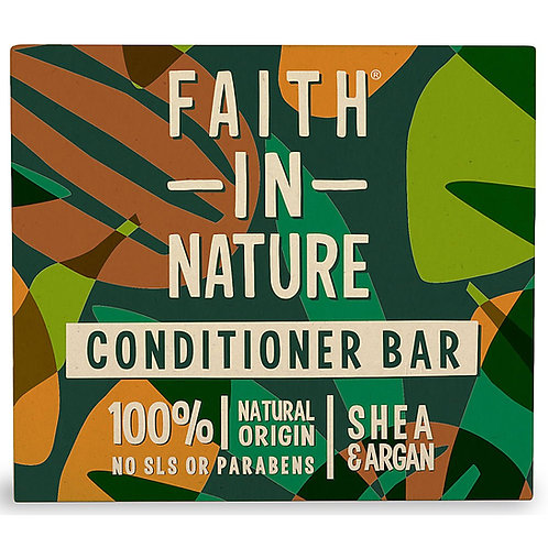 Faith in Nature Shea & Argan Conditioner Bar - 85g