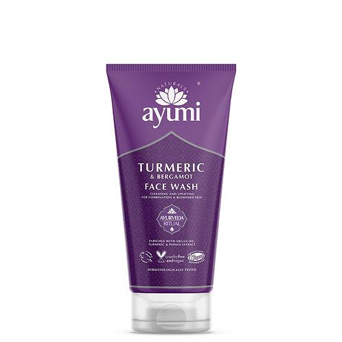 Ayumi Turmeric & Bergamot Face Wash - 150ml