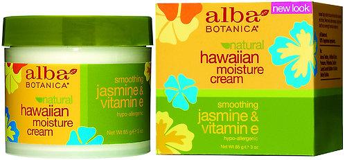Alba Botanica Hawaiian Moisture Cream Smoothing Jasmine & Vitamin E