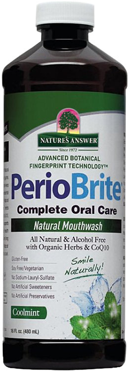 Nature's Answer PerioBrite Natural Mouthwash - Coolmint