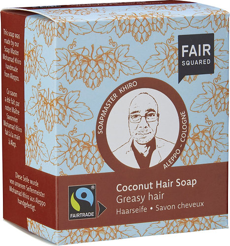 Fair Squared Coconut Hair Soap - 2 x 80g